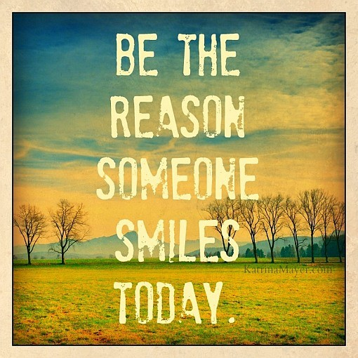 reason to smile quote