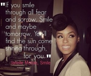 If You Smile Through All Fear And Sorrow