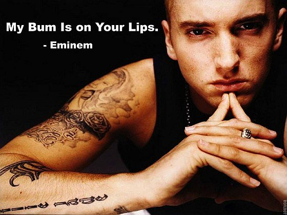 Eminem Lips Quote