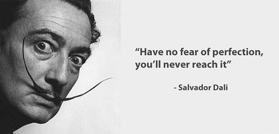 fear quote by Dali