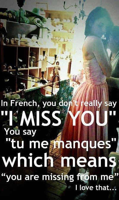 french love saying