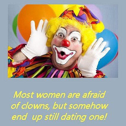 funny clowns quote