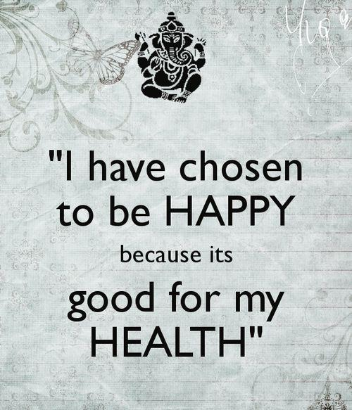 happiness for health quote