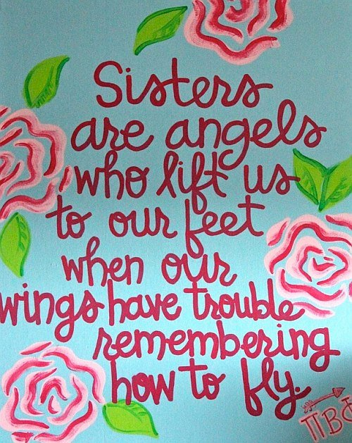 quote on sisters saying