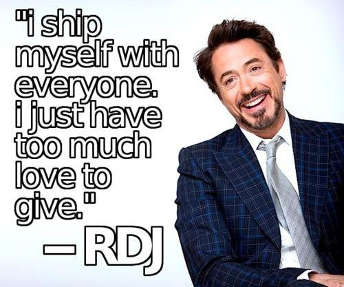 rdj love saying