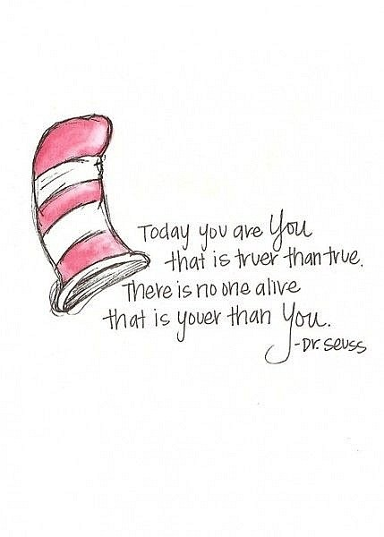 true quote by seuss