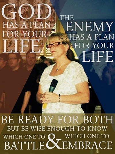 God vs Enemy quote