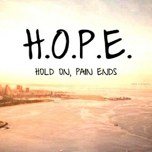 hope pain saying