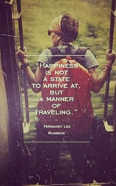 happiness is not a state quote