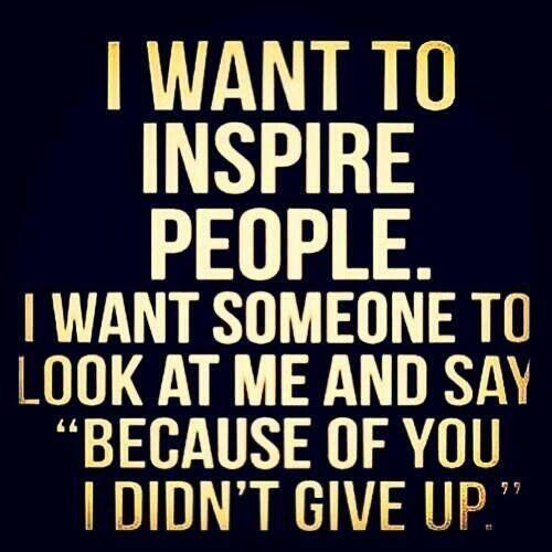 inspire people saying
