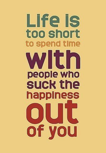 Life Is Too Short To Spend Time