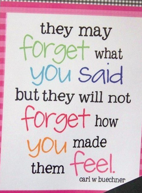 saying to forget