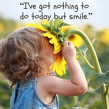 smile picture and quote