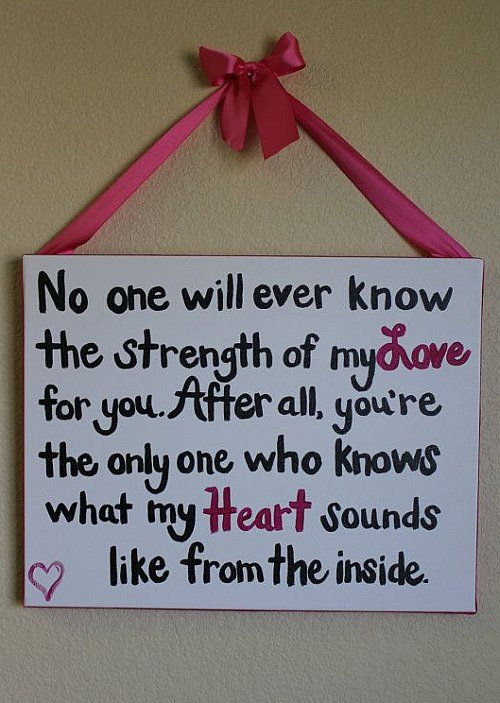 strength love heart quote