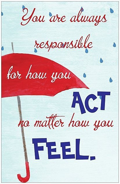 you are responsible quote
