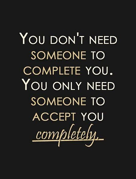 accept you completely quote