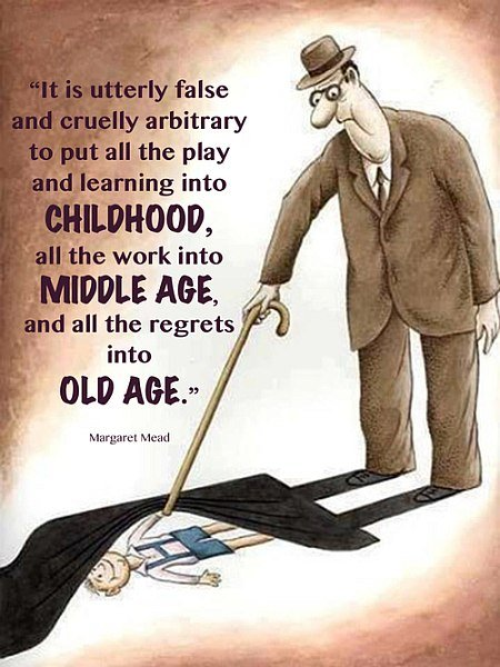 chillhood vs old age quote