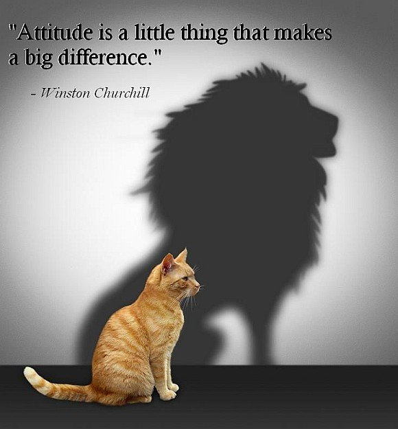 Attitude can make a big difference