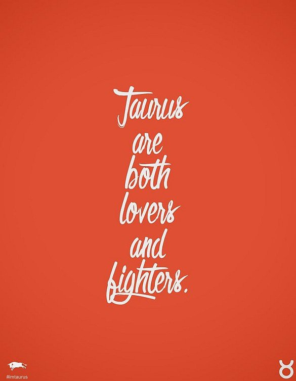 Taurus SIgn Quote