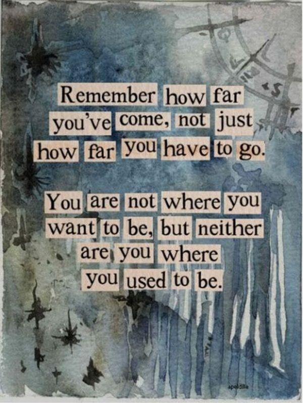 Where you are quote