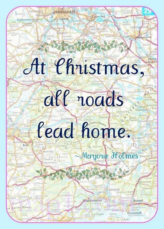 Christmas roads