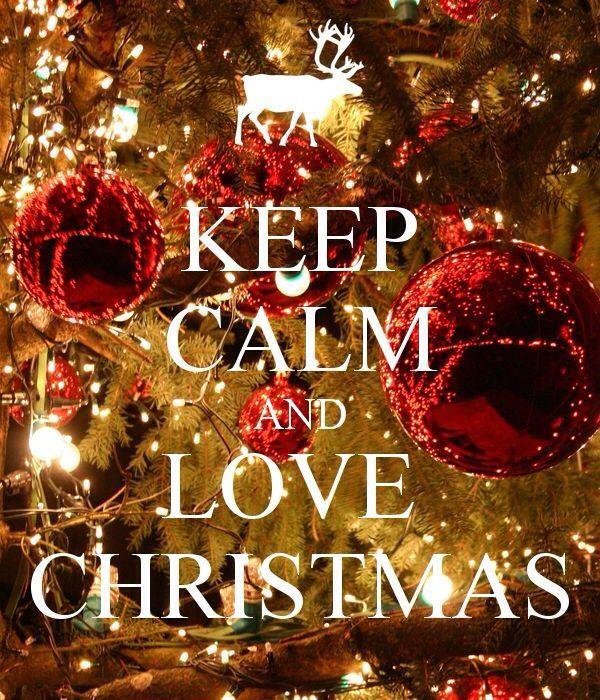 Love calm christmas