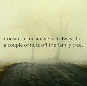 Cousin to Cousin