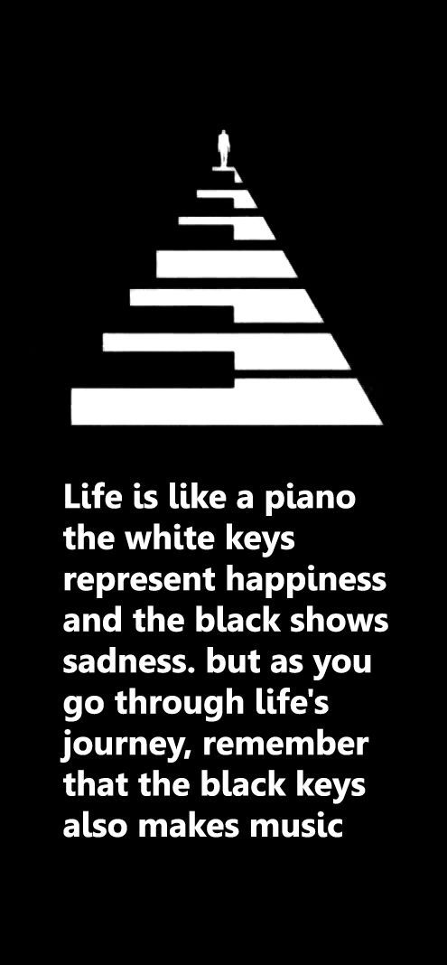 Life Is Like A Piano. Piano Quotes