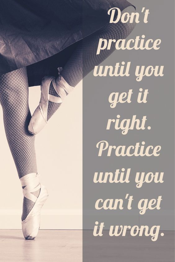 Practice make perfect quote
