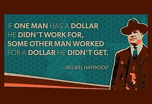 if one man has a dollar - quote