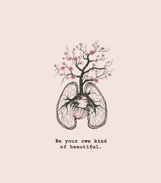Be beautiful quote