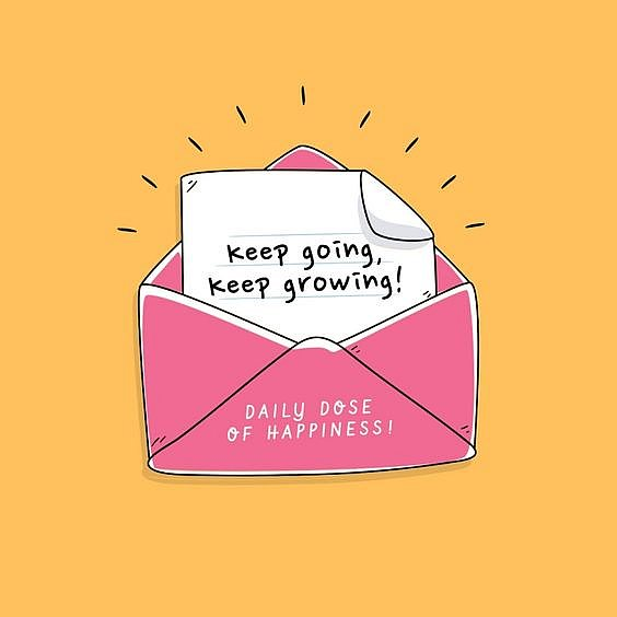 keep going keep growing quote